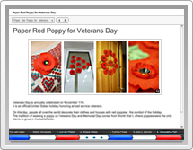Learn to Craft Red Poppies